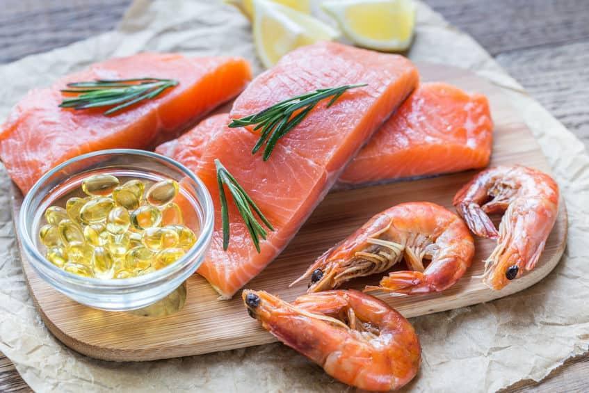 Salmone e integratori