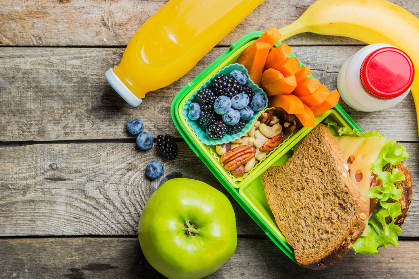 Pranzo sano a scuola