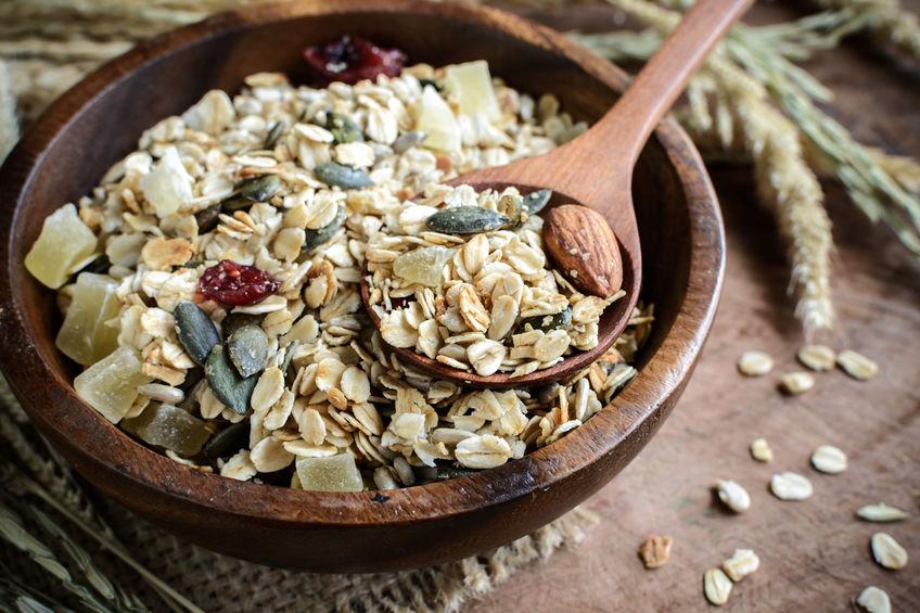 Cereali e frutta secca