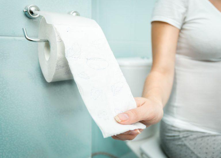 Carta igienica in primo piano