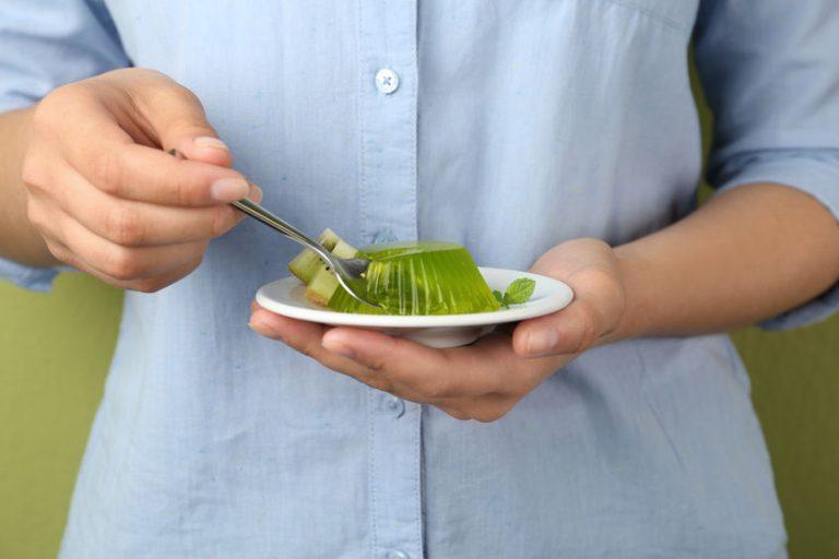Gelatina di kiwi