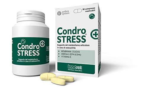 Innovet Condostress (+), Supporto del metabolismo in caso di osteoartrite per cani - Confezione da 180 compresse