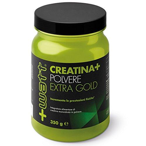 +WATT - Creatina+ polvere qualità extra gold 350 g