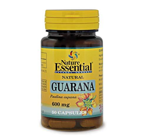 Guaranà 600 mg. 50 capsule