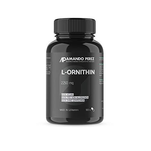 L-Ornitina 2250 mg - 100 capsule - aminoacidi anabolizzanti per atleti ambiziosi e culturisti