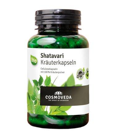 Cosmoveda Bio Shatavari Capsule 1 x 72 g, circa 200 capsule – Bio